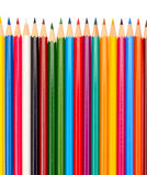 The colored pencils Royalty Free Stock Photography