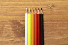 Colored pencils. Leave your mind free. Draw Stock Photo