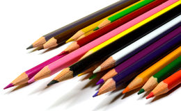 Colored pencils. Leave your mind free. Draw Stock Images