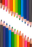 Colored pencils for school Stock Photography