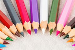 Colored pencils. Stock Photography