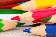 Colored pencils. Stock Photos