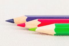 Colored pencils. Royalty Free Stock Photo