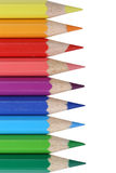 Colored pencils topic school supplies, student, back to school stock image