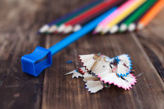 A colored pencils Stock Image