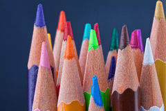 Colored pensils Stock Photography