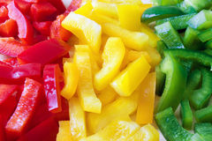 Colored Pepper Royalty Free Stock Images