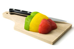 Colored Pepper Royalty Free Stock Image