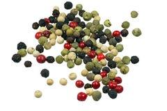 Colored pepper Stock Photo
