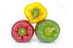 Colored pepper - paprika Stock Images