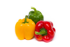 Colored pepper Stock Images
