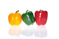 Colored peppers. Stock Photo