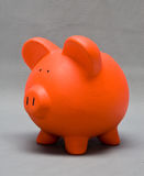 Colored Piggy Bank Stock Photos