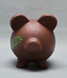 Colored Piggy Bank Royalty Free Stock Photography