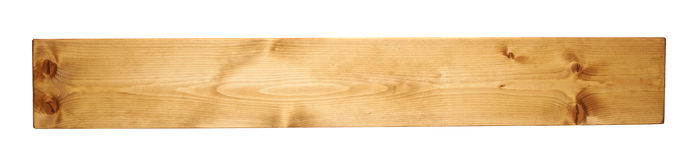 Colored pine wood board plank isolated royalty free stock image