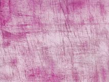 Colored pink scratches Royalty Free Stock Image