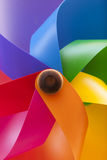 Colored pinwheel. As a background Royalty Free Stock Photo