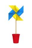 Colored Pinwheel Stock Photography