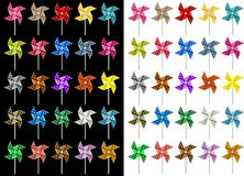Colored Pinwheel Royalty Free Stock Photography