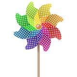 Colored pinwheel Stock Photo