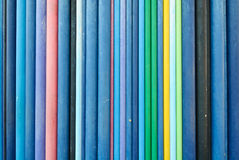 Colored Pipes. Texture. Blue and cold colors mainly Royalty Free Stock Photo