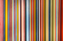 Colored Pipes. Mainlz warm colors. Horizontal orientation Stock Photography