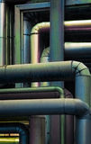 Colored pipes Royalty Free Stock Images