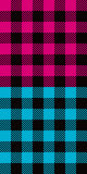 Colored plaid Royalty Free Stock Images