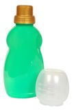 Colored plastic bottle Royalty Free Stock Images