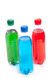 Colored plastic bottle Stock Photo