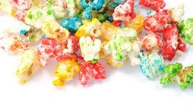 colored popcorn Стоковая Фотография