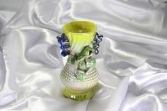 Colored porcelain vase Stock Photography