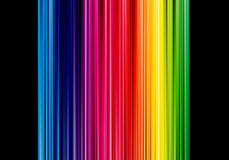 Colored Poster Background Stock Image