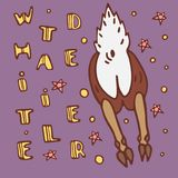Wild life poster vector illustration