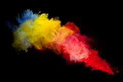 Colored powder Stock Image