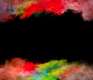 Colored powder Royalty Free Stock Image