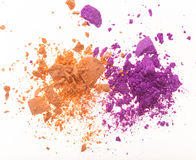 Colored powder. Stock Image