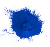 Colored powder. Royalty Free Stock Image