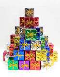 Colored Presents Stock Photo