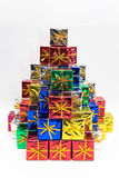 Colored Presents Stock Images