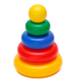 Colored pyramid Royalty Free Stock Photo
