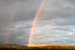 Colored Rainbow Stock Photo