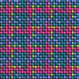 Colored rattan texture Royalty Free Stock Photo
