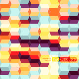 Colored Rectangles. Seamless background with many colored rectangles Royalty Free Illustration