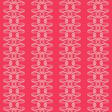 Colored retro abstract seamless pattern in a geometric style classic color with geometric shapes vector illustration for your desi Royalty Free Stock Photography