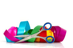 Colored ribbons Royalty Free Stock Photo