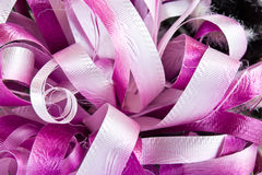 Colored ribbons for gift wrapping Royalty Free Stock Image