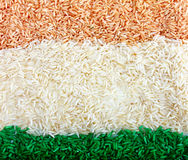 Colored rice Stock Images