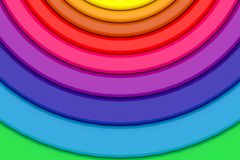 Round of colours royalty free stock photos