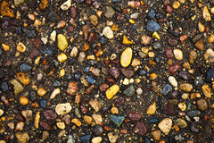 Colored Rock Pavement Background Stock Images